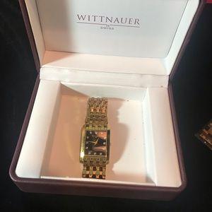 Wittnauer Men's Biltmore Goldtone Watch